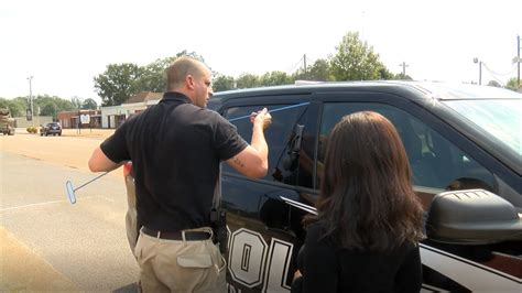 Ackerman Police Department shows off new equipment