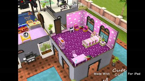 The Sims Freeplay: Two - Storey Mansion - Second Floor