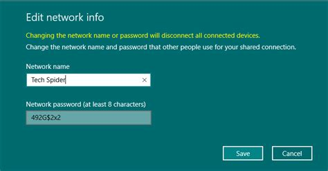 Use your PC as a mobile hotspot in windows 10 - Tech Spider