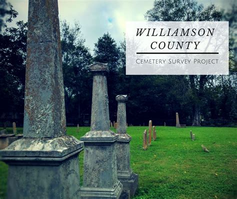 Cemetery Project | Williamson County, TN - Official Site