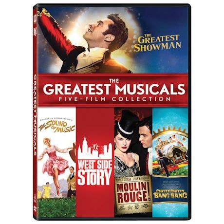 The Greatest Musicals Collection DVD | 1 Review | 5 Stars