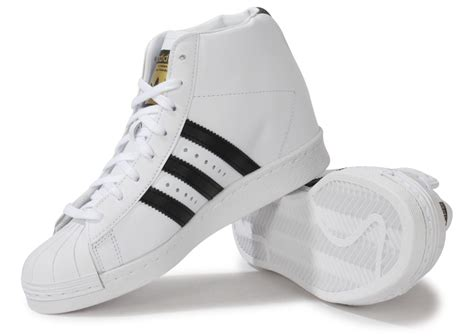 adidas Superstar Up Compensee Blanche - Chaussures adidas