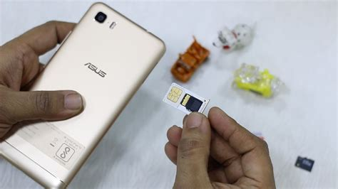 Asus Zenfone 3s Max : How to Insert SIM & SD Card - YouTube