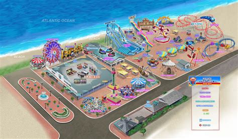 Plan | Palace Playland | Old Orchard Beach, ME