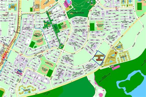 signature at yishun site location map – The New Launch