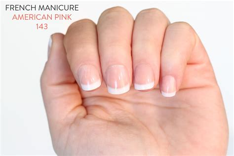 French Manicure n°143 American Pink - Elegant Touch • Orphea