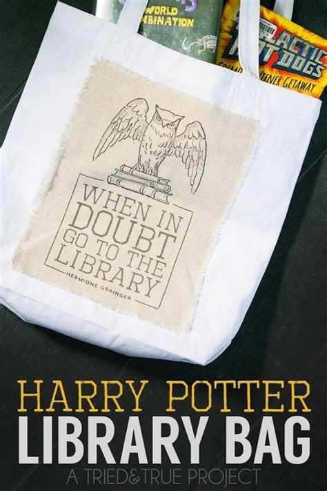 Tutorial: Harry Potter-inspired library bag – Sewing