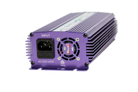 Hydroplanet Hydroponic 600W HPS MH Digital Dimmable