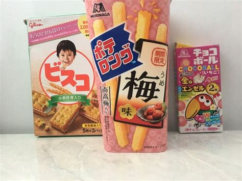 I recently ordered a box of japan candy from the site