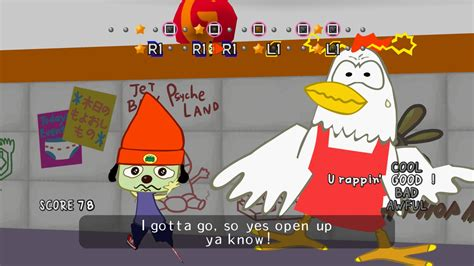 PaRappa the Rapper Remastered (PS4 / PlayStation 4) Game
