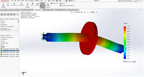 Frequency Analysis of a rotating shaft - Projects - Skill-Lync