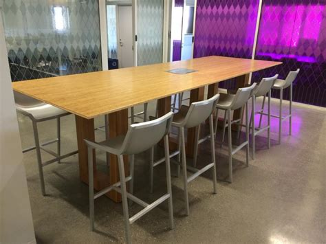 New Office Conference Tables : New Bamboo Bar Height