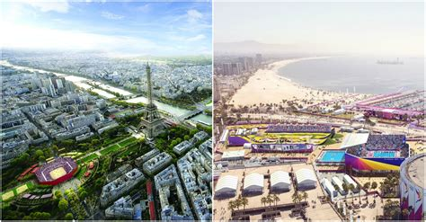 Paris and Los Angeles Selected as 2024 and 2028 Olympic