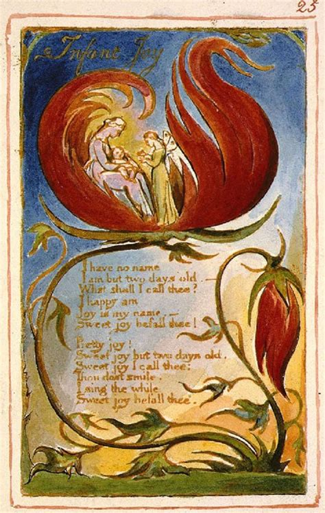 Infant Joy – A poem by William Blake with Recording