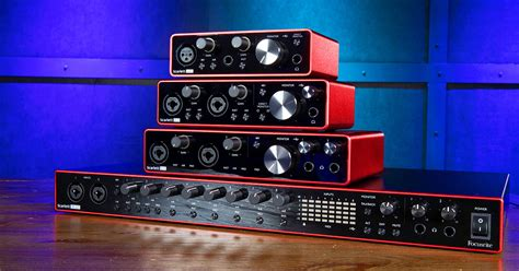 First Look: Focusrite Scarlett G3 Interfaces   Sweetwater