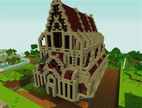 Spawn Building Pack Minecraft Project