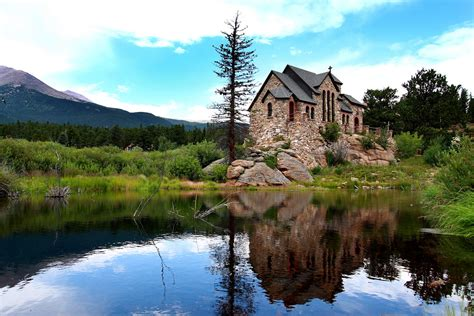 The chapel on the rock - Saint Malo - Allenspark, CO   Flickr