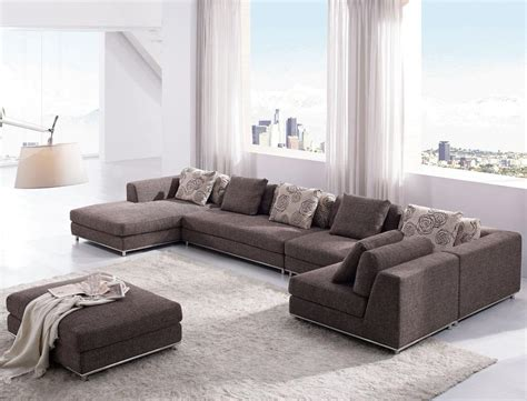 i Home and Garden: Contemporary Modern Brown Fabric