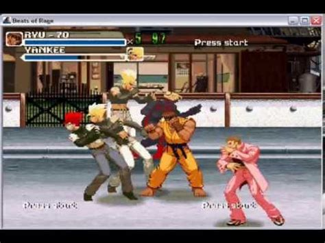 (nMo) beats of rage with mugen characters - YouTube