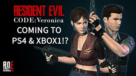 Resident Evil Code Veronica Coming to PS4 & XBOX ONE