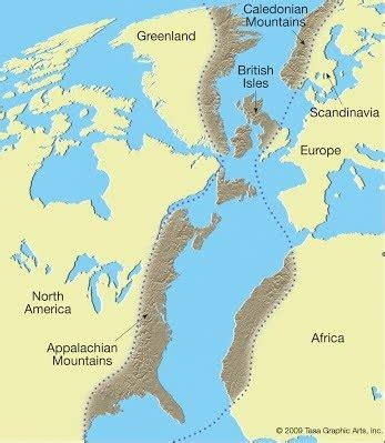 In which era were mountains formed? - Quora